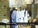 Abdoulaye Wade à TOUBA-- la visite du président Wade à Touba 14 heires après sa défaite.