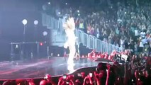 Beyonce & Les Twins dance CRAZY to  Run the World Girls  August 2015 @ Brooklyn NY Barclays