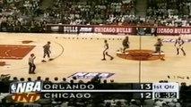 Pippen shuts down Penny + Rodman schools Shaq - 1996 ECF Game 2