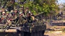 Армия Новороссии. Бой за аэропорт. Донецк.