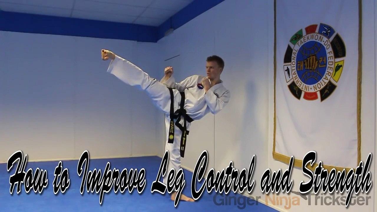 Taekwondo Leg Drills For Better Kicking Control and Strength