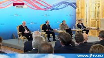 Скандал: Путин ставит на место Меркель!