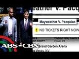 MayPac tickets, sold out sa loob ng ilang segundo