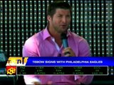 Tebow signs with Philadelphia Eagles