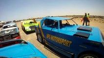 Oval Track Racing on Walvis Bay, Namibia (2012)