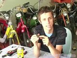 How to Fix a Moped : How to Fix Moped Spark Plugs