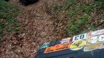 Suzuki Kingquad 700 vs Brute Force 750 vs Grizzly 700 atv hill climb ride