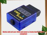 ELM327 MINI-Bluetooth software OBD OBD2 CAN-BUS Scanner Tool