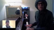 Merton Ode to Ben Folds - Merton Sings About Ben Folds & Chatroulette Funny Piano Improv