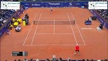 Kei Nishikori vs Martin Klizan  tennis Highlights Barcelona Open 2015 HD720p 50fps