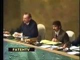 ALGERIE Arafat rend hommage à l'Algérie dans son discours historique à l'ONU présidé par Abdelaziz Bouteflika
