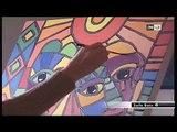 Hayat saidi Artiste peintre  Atelier Hayat Art Gallery,JT Info soir 2M 7mars2013 Women's Art World -