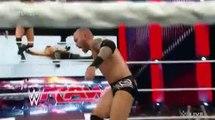 Wwe Randy Orton & Roman Reigns vs. Kane & Seth Rollins Raw, April 27, 2015