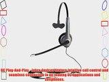 Jabra GN2000 USB Mono MS Lync Optimized Corded Headset for Softphone