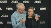 Star Wars: Episode VII - The Force Awakens Star Wars Celebration - Carrie Fisher _ Anthony Daniels