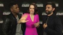 Star Wars: Episode VII - The Force Awakens, Star Wars Celebration - Daisy Ridley, Oscar Isaac _ John Boyega