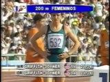 BARCELONA 92 Women's 200m final with Gwen Torrence, Merlene Ottey, Cuthbert and Privalova