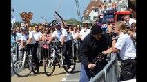 Arrestatie technieken Politie Bikers, Honden brigade  Rescue Vlissingen 2012