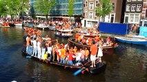 Queen's day - Koninginnedag - April 30, 2011 in Amsterdam: Vondelpark and Prinsengracht