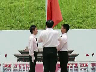 Hong Kong learns how to raise the red flag