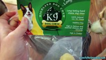 Dog Chews Made from Cheese?  - Product Review K9 Highland Dog Chews
