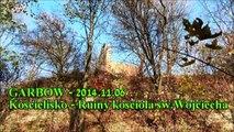 Garbów - 2014.11.06 - Kościelisko - Ruiny kościoła św.Wojciecha