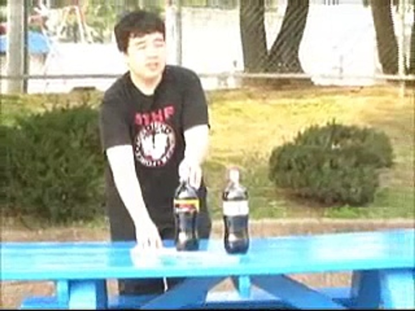 How To Make Mentos Bottle Rockets (school project)