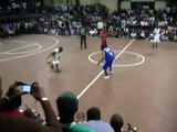 Hotsauce gets schooled  with his own move in Nairobi Kenya And1 Tour