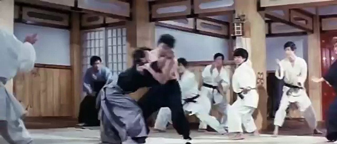 Bruce Lee In The Chinese Connection Fight Scene