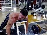 Roberto Granda,  GYM entrenamiento de Espalda, dorsales