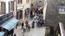 """Conférence de presse de l'exercice zonal """"Archange 2015"""" au Mont Saint-Michel"""