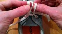 Méthode ultra rapide pour lacer ses chaussures! Le noeud Ian Knot
