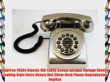 ShipFrea 1950s Classic Old Timey School Antique Vintage Novelty Looking Style Retro Rotary