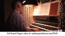 Sydney Opera House: Grand Organ Behind the Scenes at Sydney Opera House