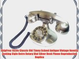 ShipFrea 1920s Classic Old Timey School Antique Vintage Novelty Looking Style Retro Rotary