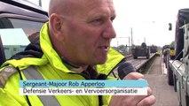Logistieke landmacht oefening dwars door Nederland