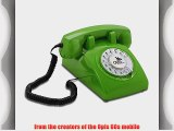OPIS 60s CABLE: designer retro phone / rotary dial telephone / retro style phone / vintage