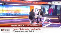 """TextO' : Xavier Bertrand (UMP) : """"Marine Le Pen veut faire oublier qu'elle est l'héritière de Jean-Marie Le Pen"""""""
