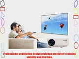 Aketek UC30 100 HD 150 Lumens HDMI Portable Mini LED Projector Home Cinema Theater AV/VGA/USB/SD/Micro
