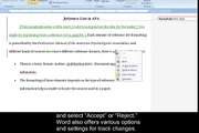 Quick Tip - Track Changes in Microsoft Word 2007