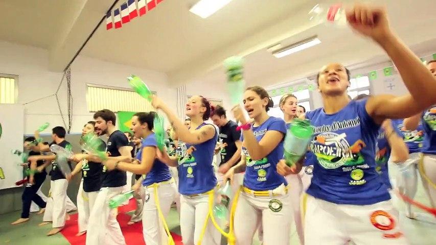 """Capoeira Paris 2016 : Association Vamos Capoeira - Rencontre sportive """"do Brazil"""""""