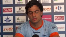 """Martin Bustos Moyano : """"le n°15, colonne vertébrale de l'équipe"""""""