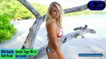 Hot Genevieve Morton (Daft Punk vs Will Smith Get Lucky Mash Up) Video Editing - Km Music