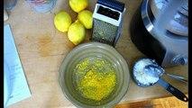 gâteau citron-cardamome et à la polenta sans gluten