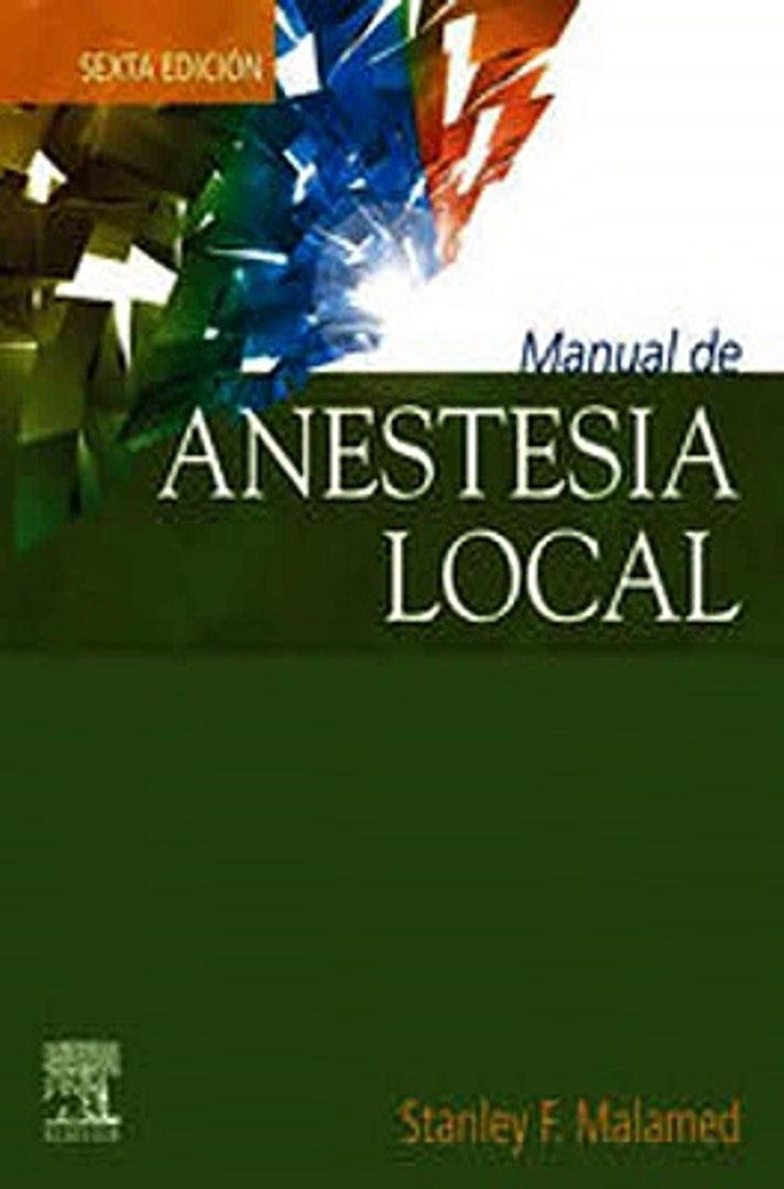 Download Manual de anestesia local Ebook {EPUB} {PDF} FB2