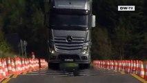 مرسيدس أكتروس شاحنة من الجيل الجديد| عالم السرعة