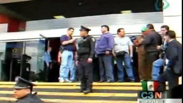 Captan cámaras de seguridad tiroteo en Plaza Galerías
