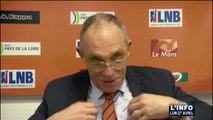 Basket : Victoire à l'arrachée du MSB face à Chalon (Sarthe)