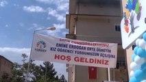 Erdoğan, Türgev Emine Erdoğan Kız Yurdu'nun Açılışını Gerçekleştirdi