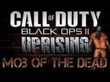 """Black Ops 2 """"MOB OF THE DEAD"""" GAMEPLAY - Black Ops 2 Zombies (UPRISING Map Pack 2 DLC) PS3 German"""